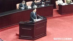行政院長賴清德在立法院議場為促轉會道歉(圖/記者李英婷攝)