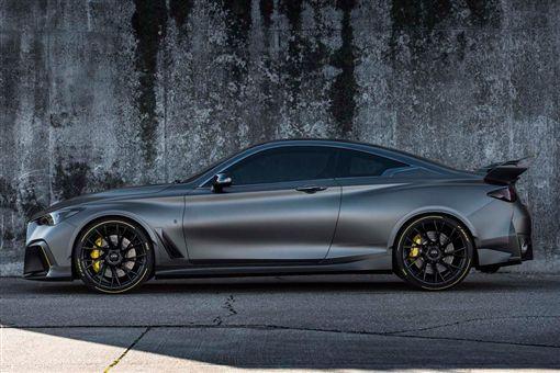 Infiniti Project Black S Prototype原型車。(圖/翻攝網站)