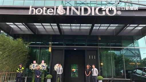 新竹英迪格酒店甫開幕,前身是美麗信酒店。(圖/記者蔡佩蓉攝影)