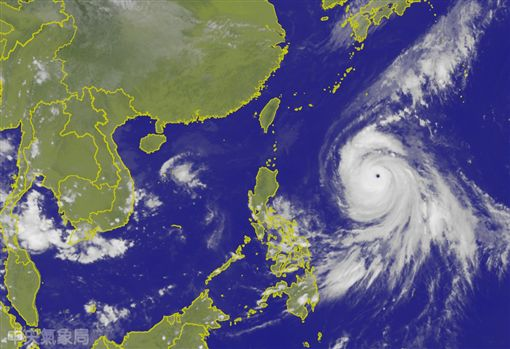 康芮颱風 氣象局