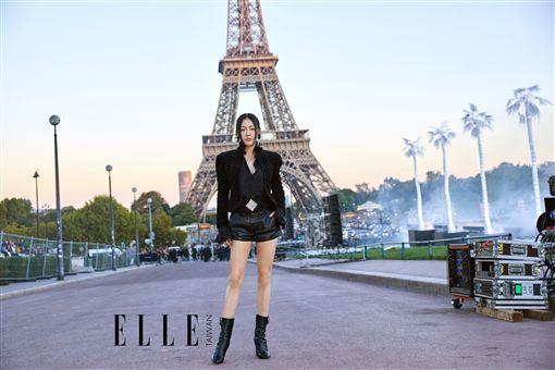 小s出席巴黎時裝周 圖/ELLA Taiwan提供