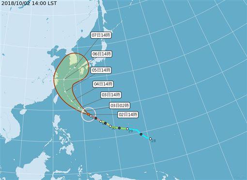 康芮,颱風,康芮颱風,吳聖宇,氣象局,強颱