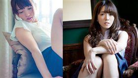 性感女星園都以「情婦候補No.1」稱號迅速紅遍日本。(組合圖/男人幫提供/翻攝自《園都》推特)
