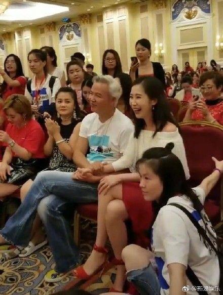 張庭與林瑞陽(圖/微博)