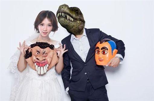 蔡阿嘎,大頭佛(圖/臉書)