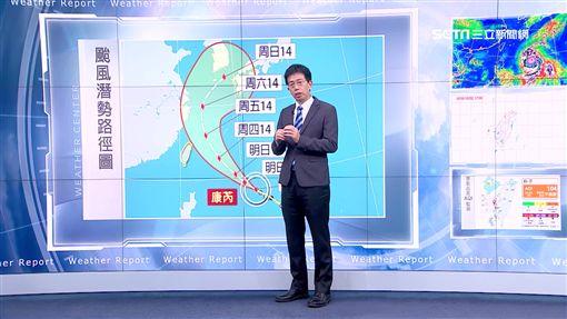 康芮外圍影響 明北台灣降雨、日夜溫差大