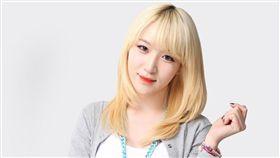 南韓女團「Badkiz」前成員知那(Jina)。(翻攝推特)