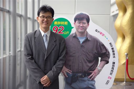 宋晏仁醫師半年瘦20公斤 原水文化出版社提供