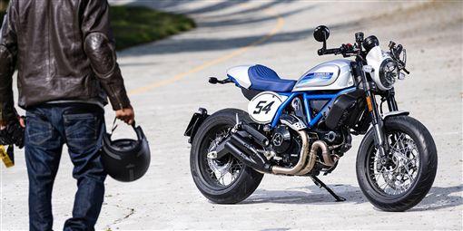 Ducati Scrambler。(圖/翻攝網站)
