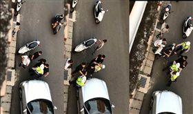 黑衣人包圍警察嗆聲/爆怨公社