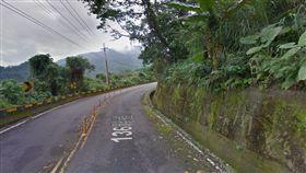 三寶跑山逆向撞機車!20歲騎士摔飛爆頭(圖/翻攝自Google地圖)跑山,三寶,撞飛