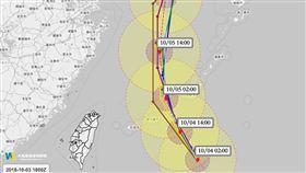康芮,颱風,康芮颱風,天氣風險,下雨 圖/翻攝自臉書