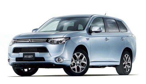 Mitsubishi Outlander PHEV(圖/車訊網)