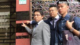 競選辦公室發言人林昆鋒,律師陸正義,台北市長柯文哲,葛特曼,騙子,北檢,妨害名譽。潘千詩攝影
