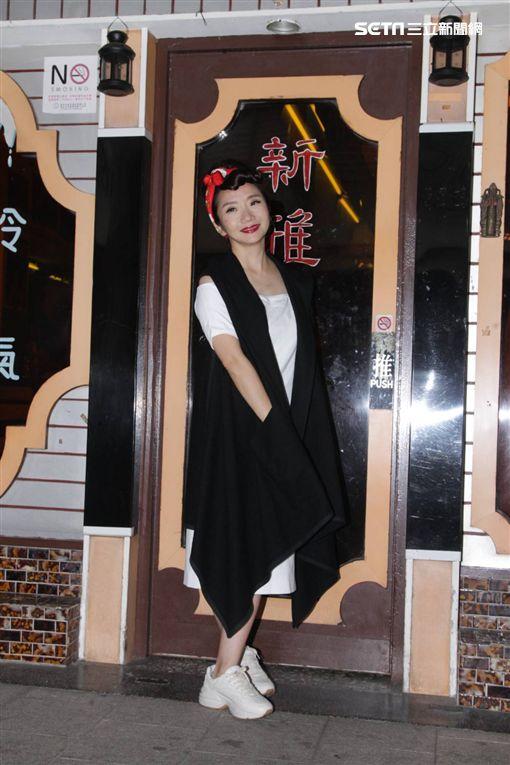 陶晶瑩6度接下金馬獎主持棒。(圖/記者邱榮吉攝影) ID-1573393
