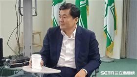 民進黨秘書長洪耀福談葛特曼(圖/記者李英婷攝)