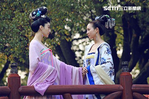 張鈞甯、范冰冰《武媚娘傳奇》 圖/中天電視提供
