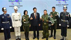 國慶籌備委員會主委蘇嘉全4日召開召開記者會公布這次國慶大會的亮點。(圖/籌委會提供)