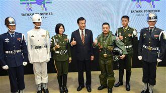 國慶大會亮點 蘇祈麟領三軍儀隊操槍