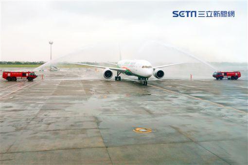 長榮,航空,波音787,夢幻客機,桃園國際機場,/記者蕭筠攝影