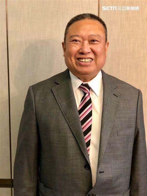 宏國集團副董林鴻道、新板希爾頓飯店。(圖/記者蔡佩蓉攝影)