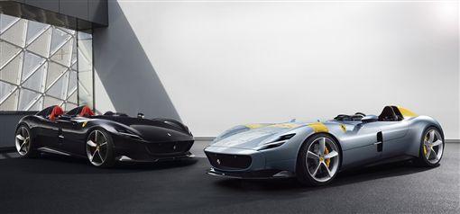 Ferrari全新車系Monza SP1及SP2。(圖/Ferrari提供)