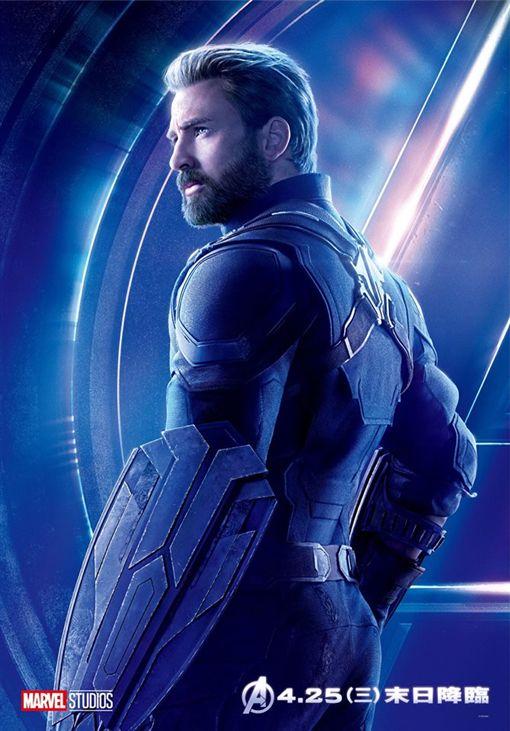 克里斯伊凡(翻攝自Marvel臉書)