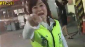 台南市無黨籍議員參選人翁語含 圖/翻攝自爆料公社