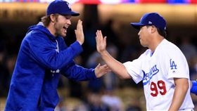 柳胖G1超殺!柯蕭接受球團G2安排 MLB,季後賽,洛杉磯道奇,Clayton Kershaw,柳賢振 翻攝自推特