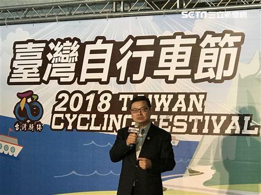 台灣自行車節,觀光局,花東海灣盃自行車挑戰,副局長,張錫聰,/觀光局提供