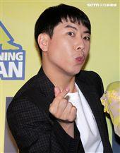 Running Man成員梁世燦。(記者邱榮吉/攝影)