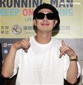 Running Man成員哈哈。(記者邱榮吉/攝影)