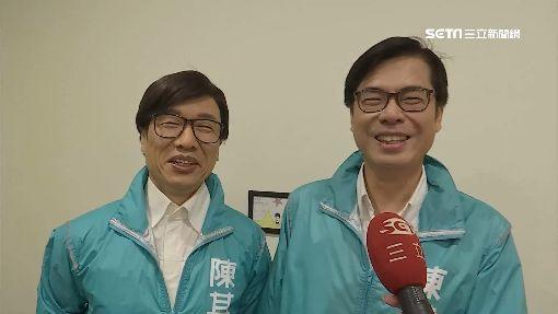 郭子乾模仿重神韻 陳其邁如見「雙胞胎」