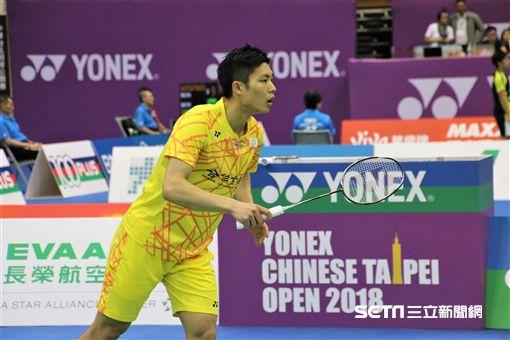 周天成,台北羽球公開賽(圖/記者劉家維攝影)
