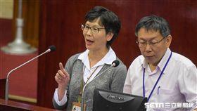 柯文哲辦公室主任蔡壁如 圖/記者林敬旻攝