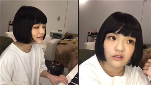 徐佳瑩開直播翻唱《延禧》片尾曲 翻攝自臉書