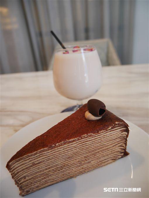 Lady M,千層蛋糕。(圖/記者馮珮汶攝)