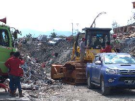 印尼強震重災區貝托波 面目全非
