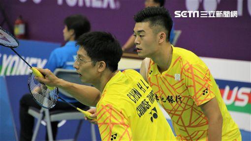王齊麟,陳宏麟,雙麟配,台北羽球公開賽(圖/記者劉家維攝影)
