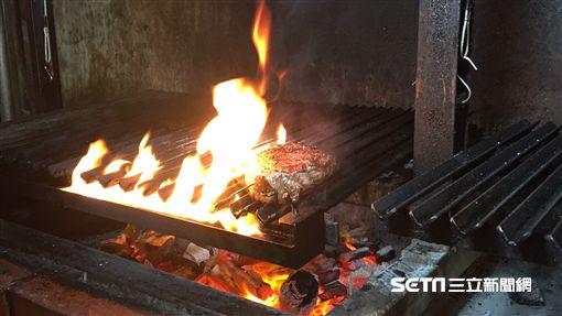 棧直火廚房,牛排。