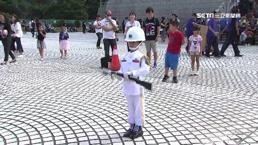 戀愛ING當伴奏 國慶樂儀隊精彩演出