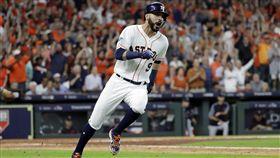 岡薩雷茲關鍵長打 太空人2:0聽牌 MLB,季後賽,休士頓太空人,Marwin Gonzalez,Gerrit Cole 圖/美聯社/達志影像