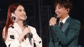 楊丞琳的演唱會《青春住了誰》高雄場6日開唱,她找來初戀情人「小鬼」黃鴻升助陣。(翻攝臉書)