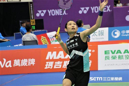 戴資穎,台北羽球公開賽(圖/記者劉家維攝影)