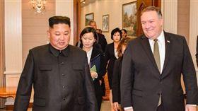 美國國務卿蓬佩奧(Mike Pompeo)表示,他今(7)日訪問平壤,並會見北韓領導人金正恩。美國官員表示,蓬佩奧這次訪問北韓成果超越上次,但還需要進一步努力。(圖/翻攝自Secretary Pompeo推特)