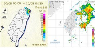 南北兩樣情!北台灣溫降有雨南部微熱