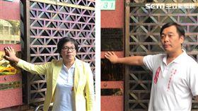 彰化縣長候選人黃文玲、台北市議員候選人伍大辰,北檢告吳祥輝。潘千詩攝影