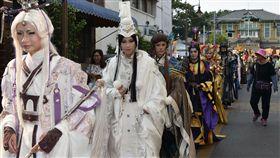 雲林國際偶戲節 真人素還真踩街