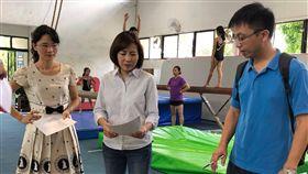 協和國小體操隊設備老舊 中市府協助更新