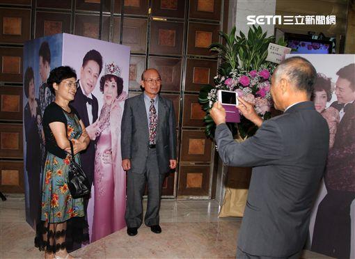 周遊紅寶石婚 圖/記者邱榮吉攝影